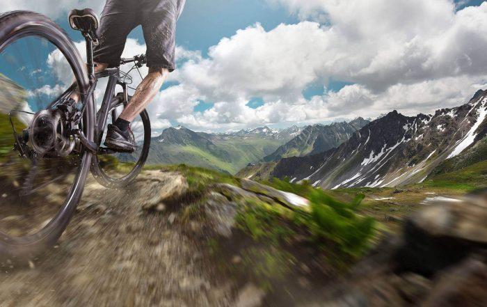 Full Suspension Electric Mountain Bikes